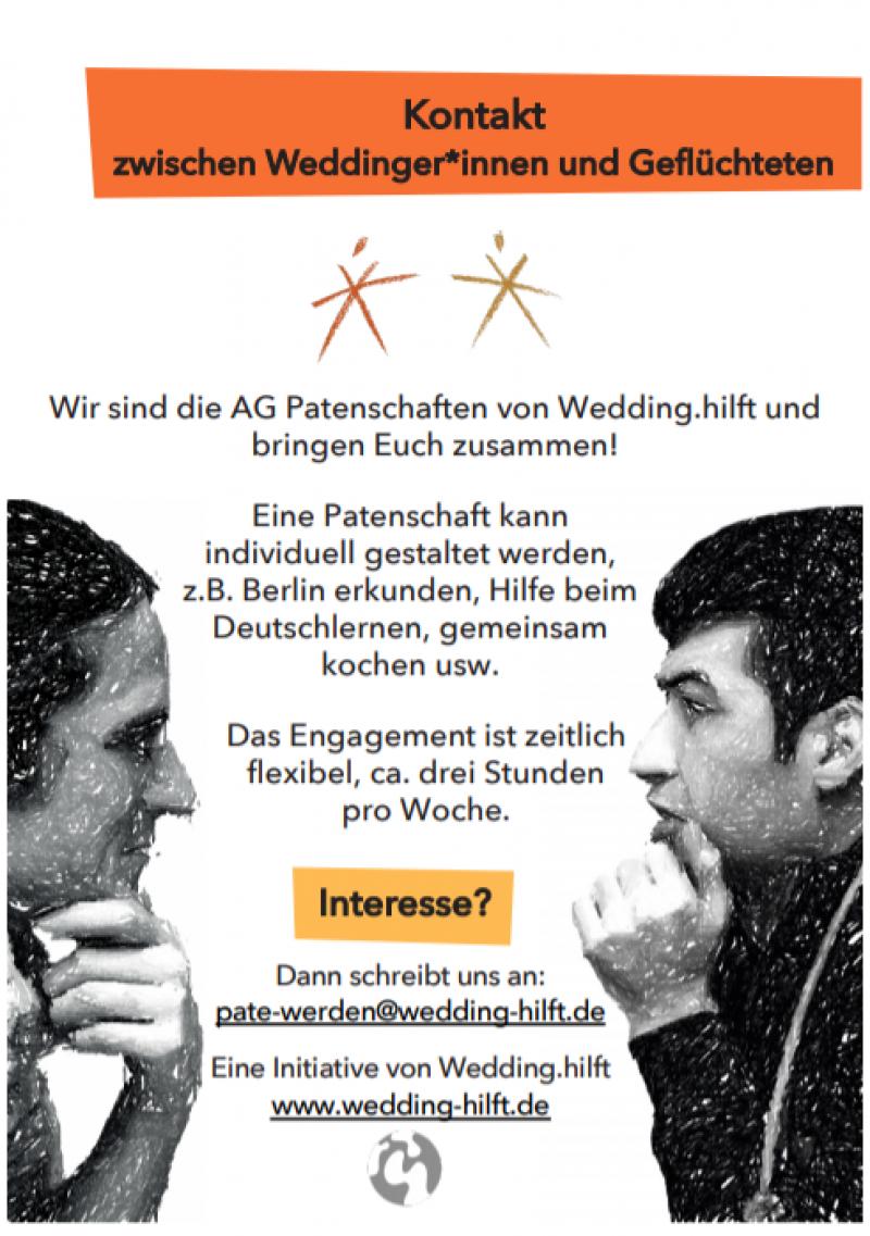VERSCHOBEN – Infoveranstaltung der AG Patenschaften am Montag, 16. März um 18.30 Uhr